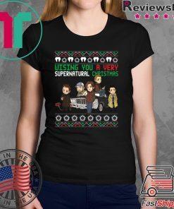 Wishing You A Very Supernatural Christmas T-Shirt