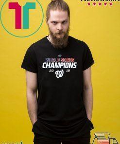 World Series Champions 2019 Washington Nationals Shirt