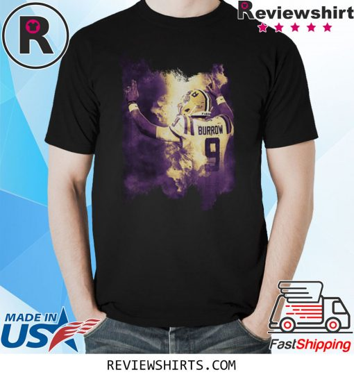 Joe Burrow Lsu Football Distressed Shirt