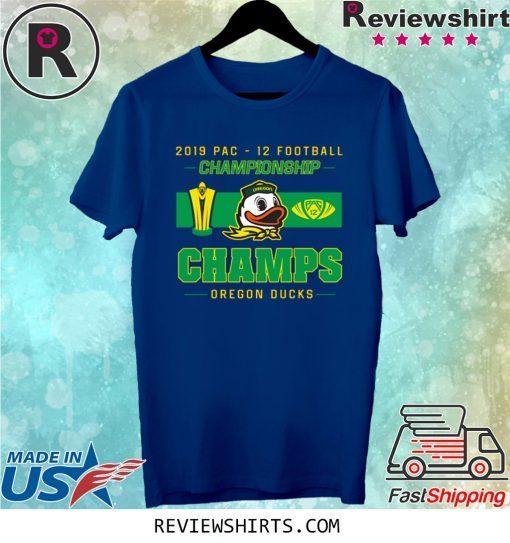 Oregon Ducks 2019 Pac 12 Championship Shirt