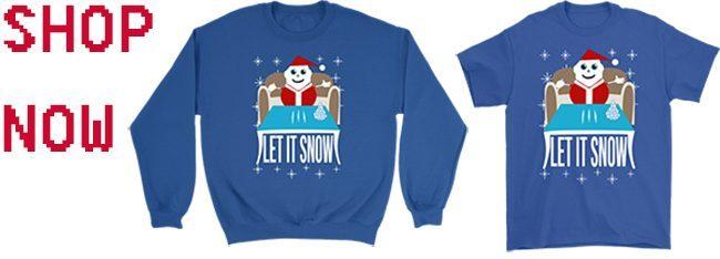 Walmart Cocaine Santa Let It Snow All Style