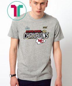 2020 Super Bowl LIV Champions Kansas City Chiefs Shirt