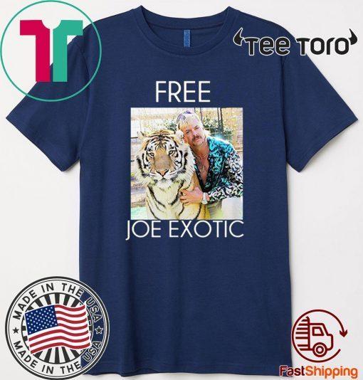 Free Joe Exotic Shirt Tiger King