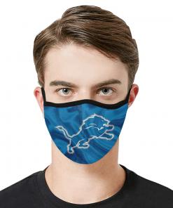 Detroit Lions Face Mask PM2.5