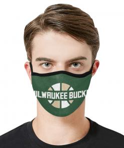 Milwaukee Bucks Face Mask PM2.5