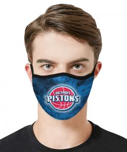 Detroit Pistons Face Mask PM2.5