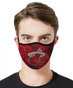 Miami Heat Face Mask