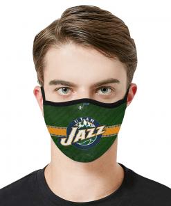 Utah Jazz Face Mask PM2.5