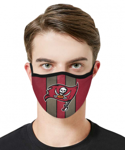 Tampa Bay Buccaneers Face Mask PM2.5