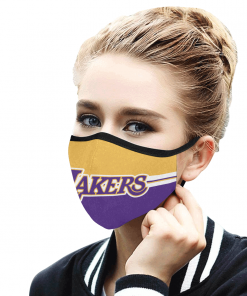 Los Angeles Lakers Basketball Face Mask PM2.5