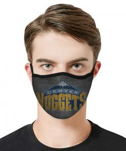Denver Nuggets Face Mask