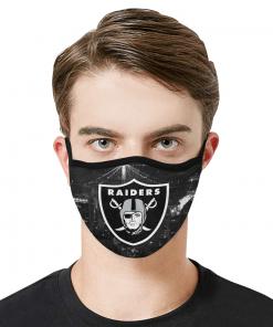 Oakland Raiders Face Mask - Adults Mask PM2.5