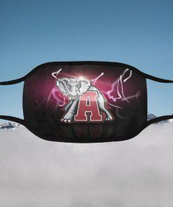 Alabama Crimson Filter Face Mask