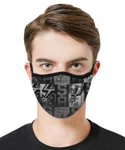 NBA San Antonio Spurs Face Mask
