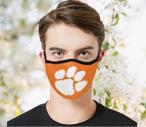 Clemson Tiger Filter Face Mask