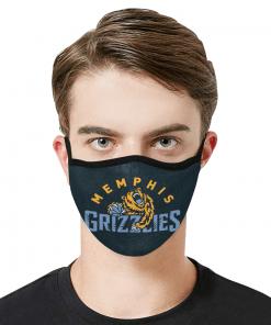 Memphis Grizzlies Face Mask PM2.5