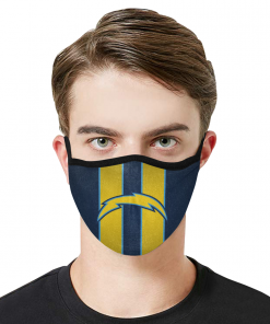 Los Angeles Chargers Football Face Mask