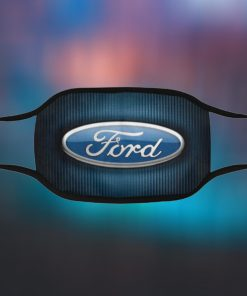 Ford Filter Face Mask Ford Logo Car Antibacterial Fabric