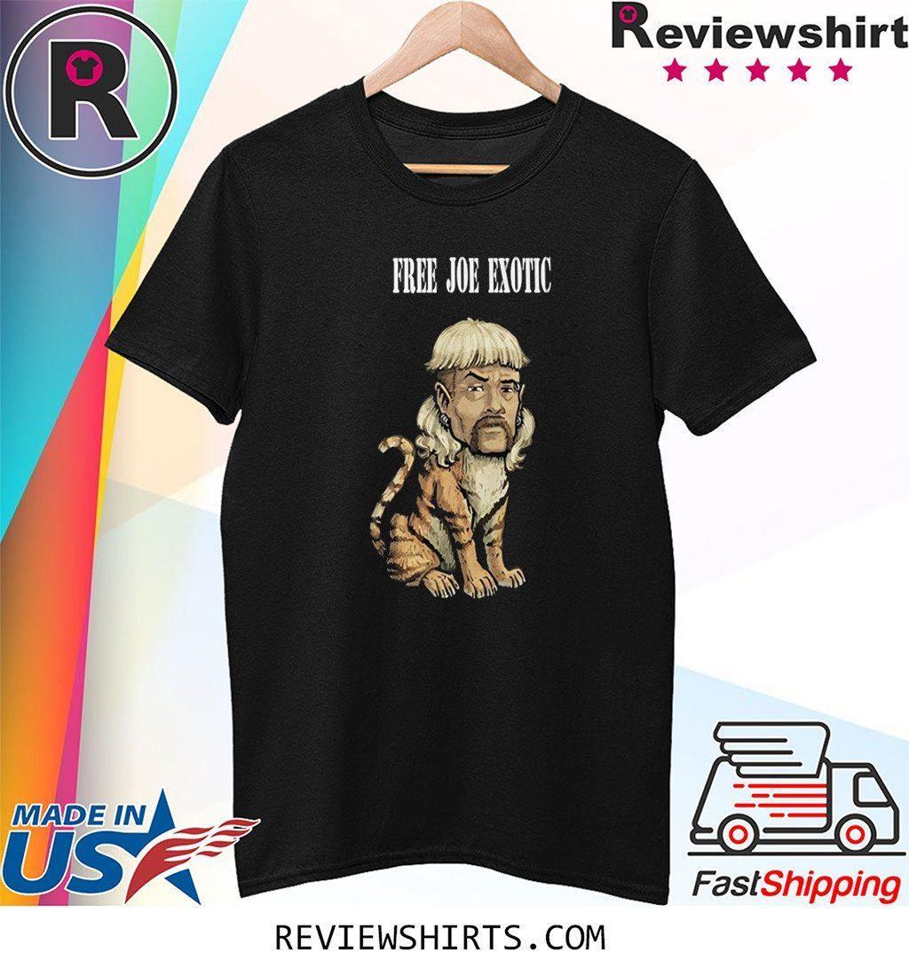 Free Joe Exotic Tiger King Shirt Reviewshirts Office