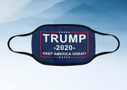Trump 2020 Keep America Great Filter Face Mask