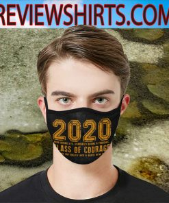 2020 Class of Courage Custom mask Unisex Facemask 2020