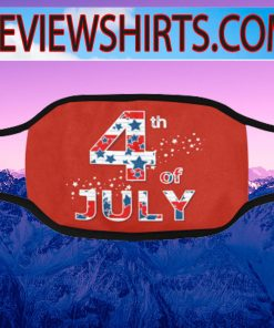 4th July Of 2020 independence day Face Masks