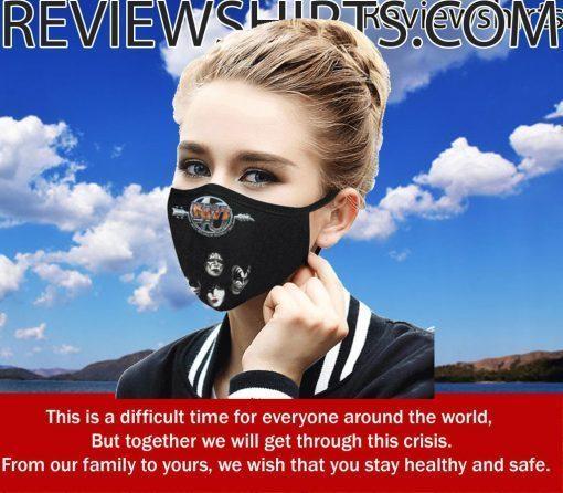 Band Kiss Cloth Face Mask US