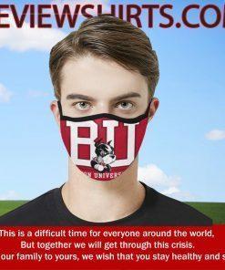 Boston University Terriers Cloth Face Mask - Logo BU Mask #FaceMask 2020