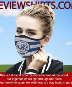 Fan Queens Park Rangers Face Masks - Logo CPR 2020