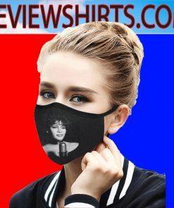Whitney Houston Singer Face Mask US