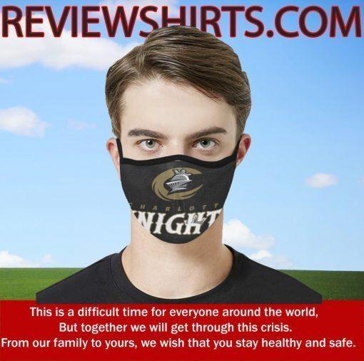 Charlotte Knights Baseball Team 2020 Mask Filter - Face Mask Filter MP2.5