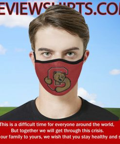 Logo Cornell Big Red Cloth Face Mask