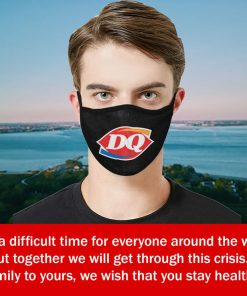 Dairy Queen Cloth Face Mask – Filter Face Mask US 2020
