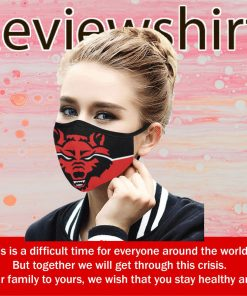 ARKANSAS UNITED STATE RED WOLVES CLOTH FACE MASK