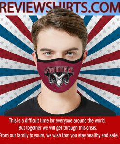 America State Fordham Rams Cloth Face Masks
