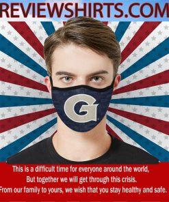 Mask 2020 Georgetown University Athletics Face Mask