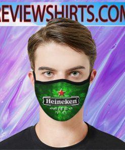 Heineken beer Face Mask