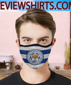 Leicester City FC Cloth Face Mask - Leicester City 2020 - Leicester City Gift Father's Day Face Mask