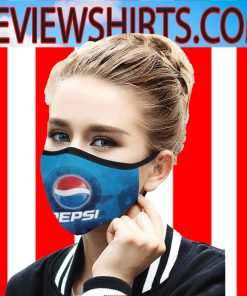 Logo Pepsi-Cola Face Mask - Logo of PepsiCo 2020