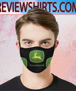Logo John Deere & Company Cloth Face Mask