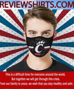 Official Cincinnati Bearcats Cloth Face Mask