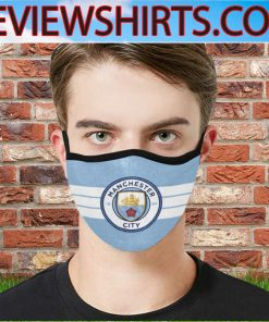 126 Years Manchester City FC 1894 2020 Face Masks