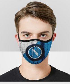 SSC Napoli Soccer Club Face Masks