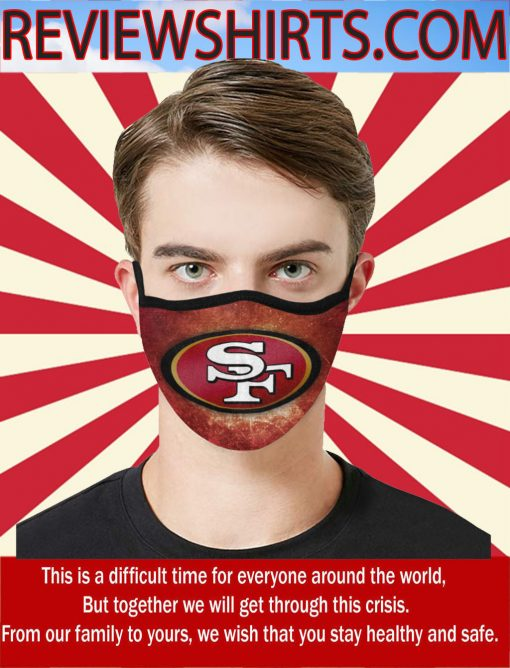 San Francisco 49ers New Face Mask Filter US 2020