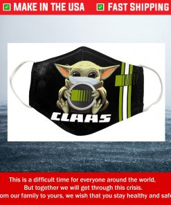 Baby Yoda Claas Cotton Face Mask