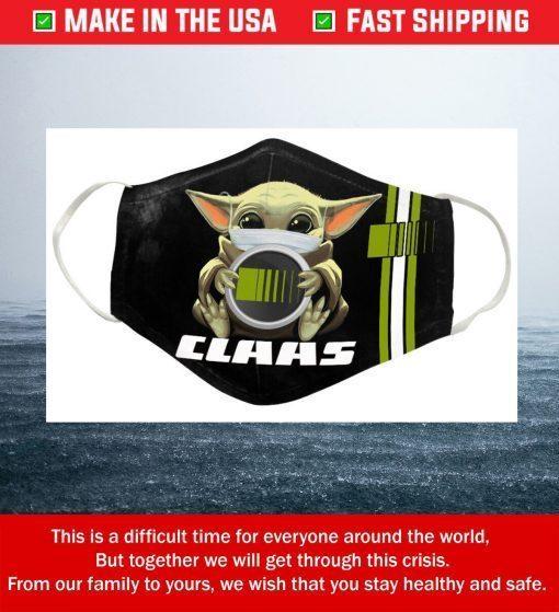 Baby Yoda Claas Cotton Face Mask
