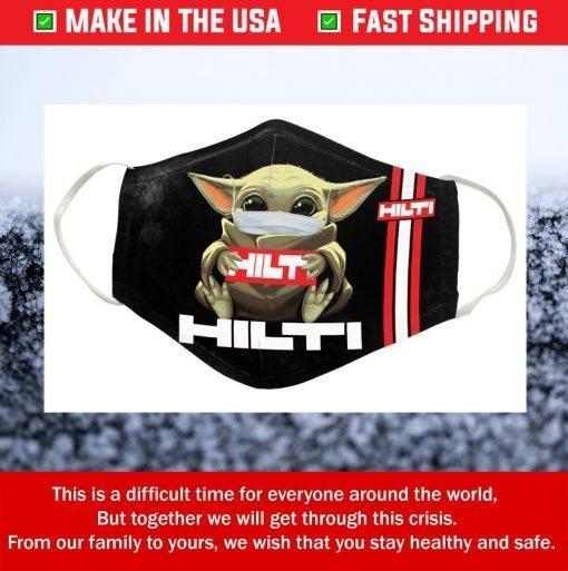 Hilti Logo Cotton Face Mask