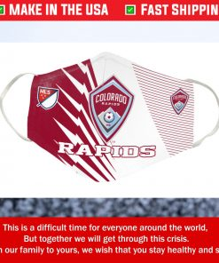 Logo Colorado Rapids FC Cotton Face Mask