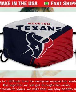 Logo Houston Texans Cotton Face Mask