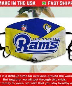 Logo Los Angeles Rams Cotton Face Mask